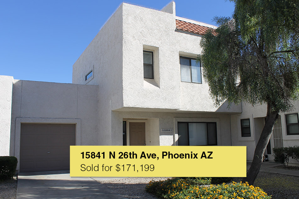 15841 N. 26th Ave, Phoenix AZ, 85023