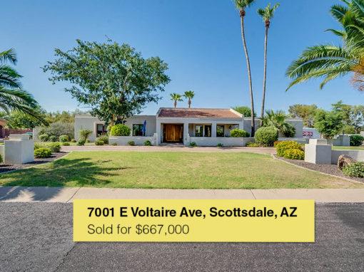 7001 E Voltaire Ave, Scottsdale, AZ
