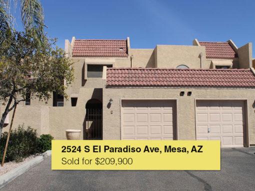 2524 S El Paradiso Ave UNIT 96, Mesa, AZ 85202