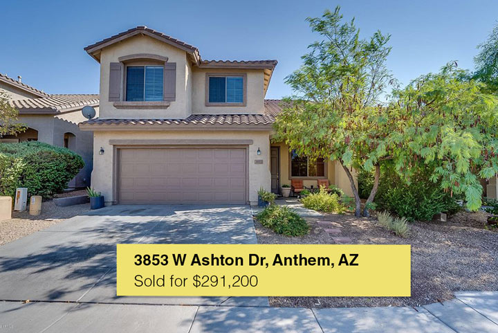 Sold by the Angelo Group | 3853 W Ashton Dr, Anthem, AZ 85086