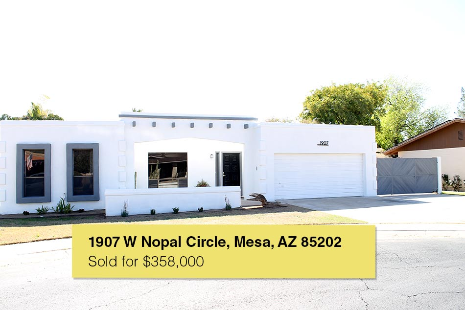 1907 W Nopal Circle, Mesa, AZ 85202 sold by https://theangelogroup.com/