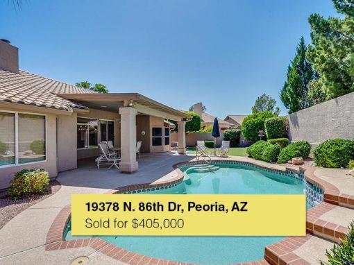 19378 N 86th Dr, Peoria, AZ, 85382