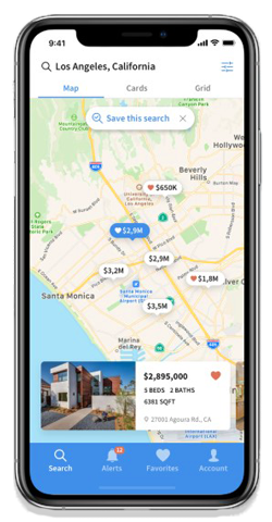 North and Co. Home Finder App