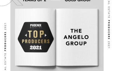 Top Producers 2021 Award